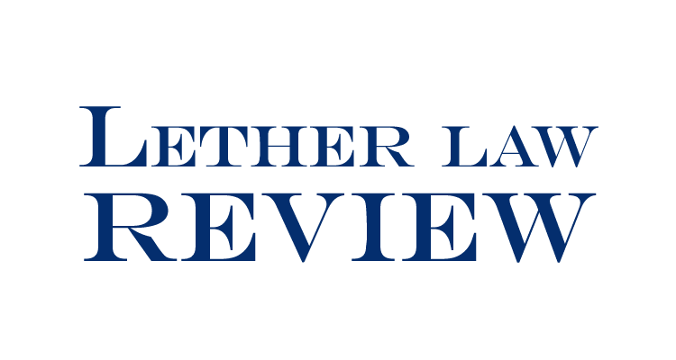 Lether Law Review